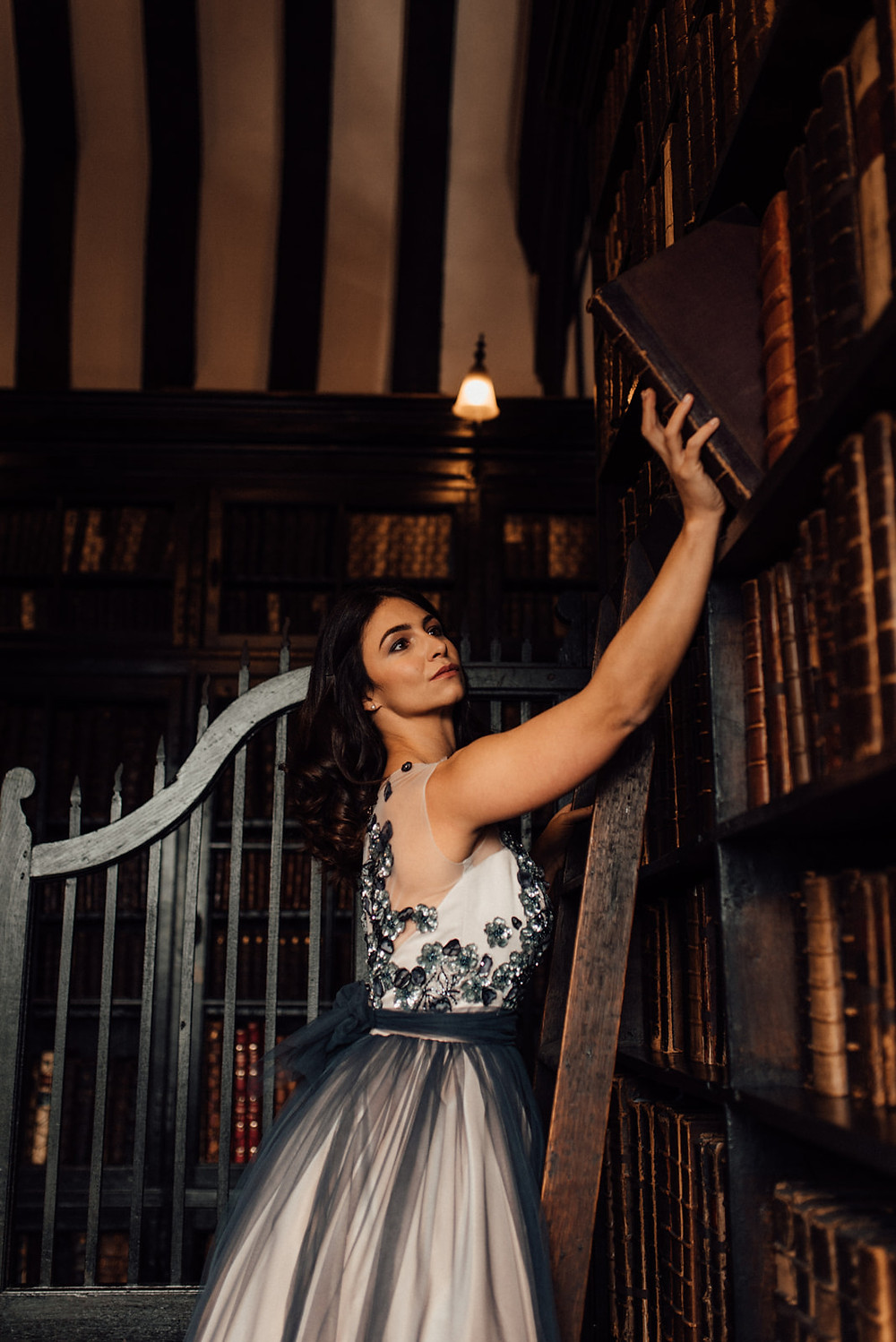 Bride in Chetham's library