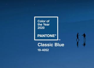 Pantone Colour of 2020 - Classic Blue