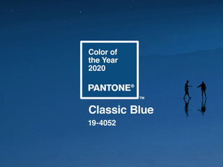 Pantone Colour of 2020 - Classic Blue