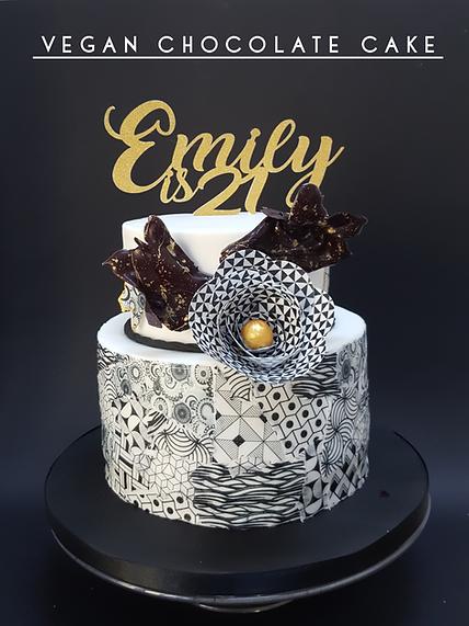 Vegan chocolate cake Vegan Cakes | Wedding Cakes Shefield | Vegan Wedding Cakes