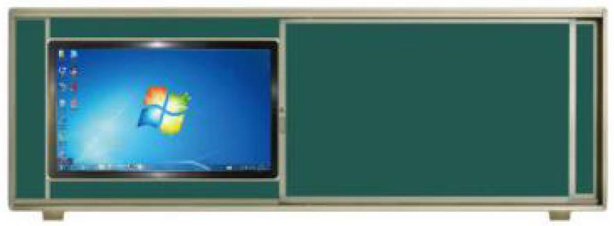 智慧教室無塵黑板4