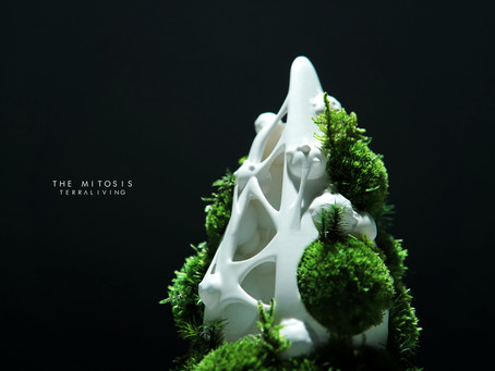 The Mitosis - a biomorphic botanical sculpture by TerraLiving
