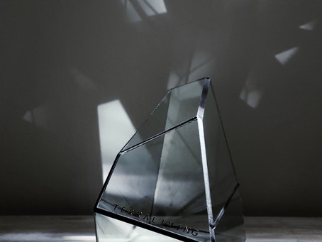 The World of TerraLiving's Glass Sculpture