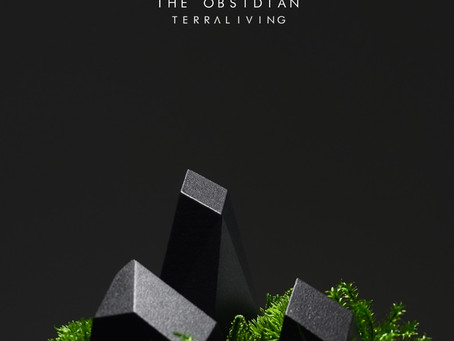 The Obsidian - a 3D-printed ZERO Moss Botanical Sculpture by TerraLiving