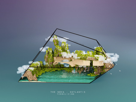 TerraLiving Voxel Concept Art, The Nova - Skylantis