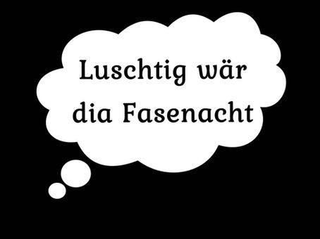 """"""" Fasnachtsrede"""""""