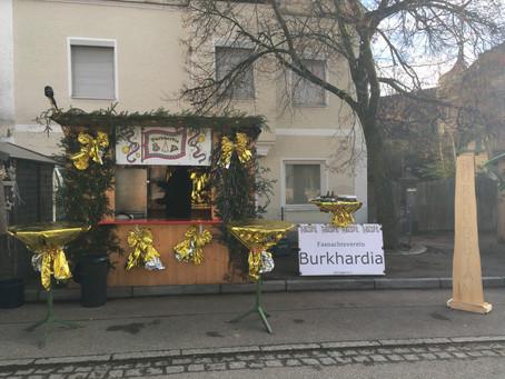Die Burkhardia auf dem Jettinger Adventsmarkt