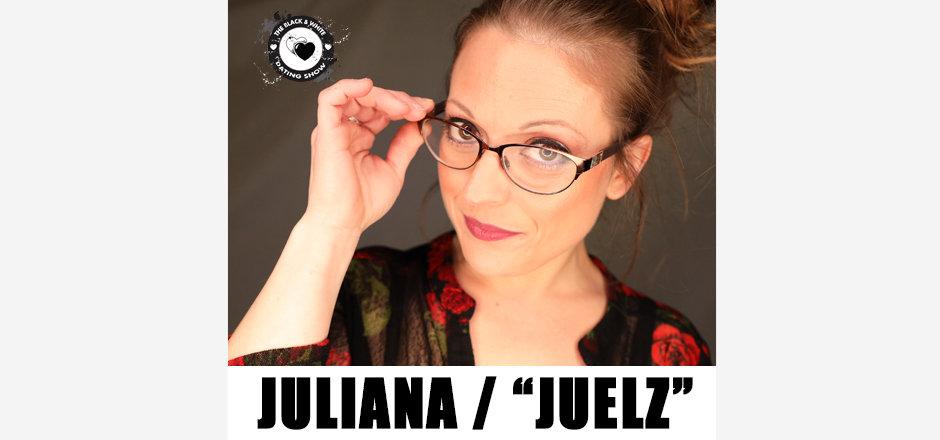 "On-Air Podcast Co-host, Juliana (aka ""Juelz"")"