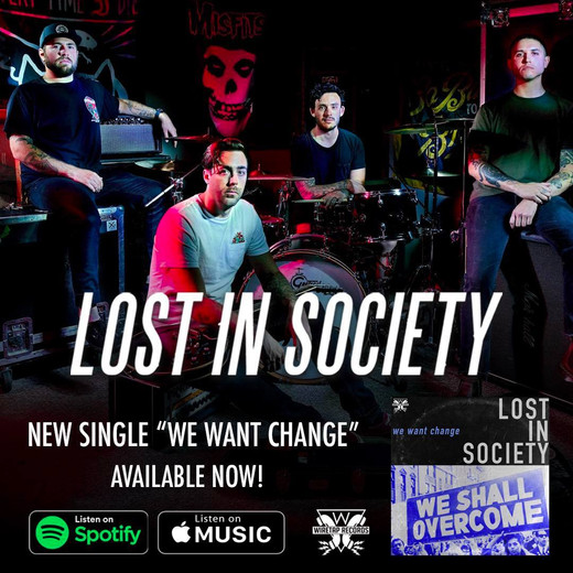 "New single ""We Want Change"" out now!"