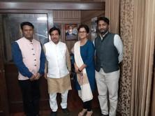 Dr. Satyanarayan Jatiya Member Rajya Sabha