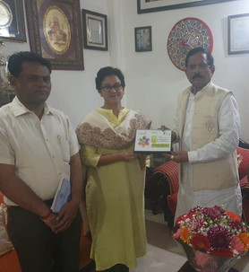 Hon'able Minister of AYUSH Shree Shripad Naik