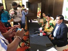 Dr. Milind Kamble Addresses the Press