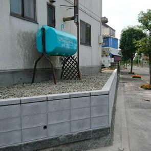 ブロック塀改修工事