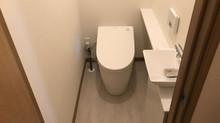 江別S様邸 トイレ交換手洗器新設工事
