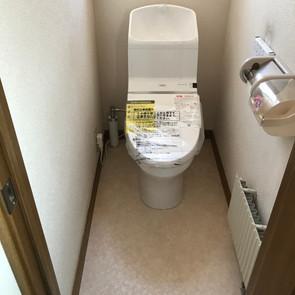 E・K様邸(北区) トイレ交換工事