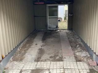 清田区W様邸車庫舗装工事