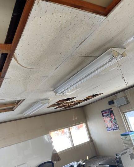 2階キッチンからの漏水