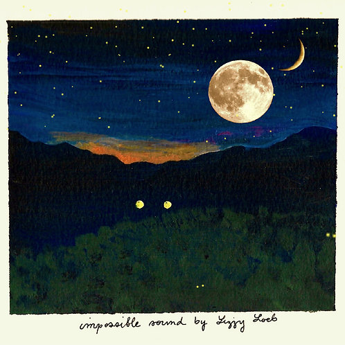 Impossible Sound Single Art Prints by Lizzy Loeb