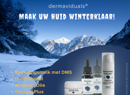 Maak uw huid winter klaar