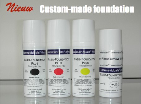 Nieuw product (1) : Custom-made foundation