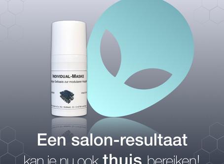 Een salon-resultaat kan je nu ook thuis bereiken met dermaviduals® nieuwe masker!