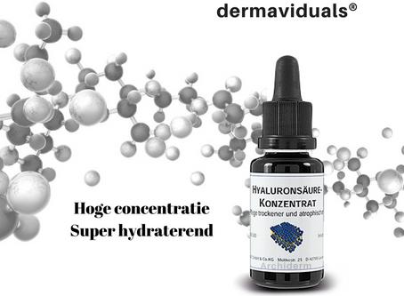 Hyaluronzuur - super hydraterende werkstof van dermaviduals®