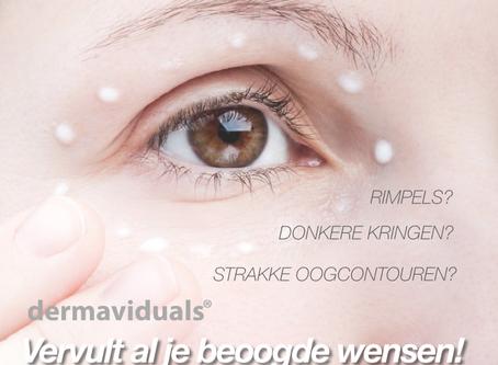 Laat je ogen stralen - een allround oogcrème van dermaviduals®!