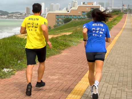 Maratona do Natal:  Corredorespodem participar sem sair da cidade