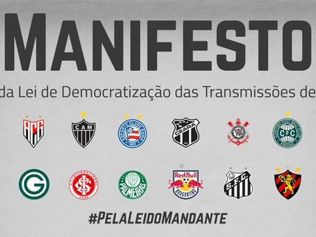 Clubes da Série A lançam manifesto de apoio à MP 984