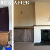 Before & After - Living room