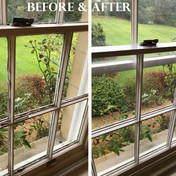 Before & After - Sash window