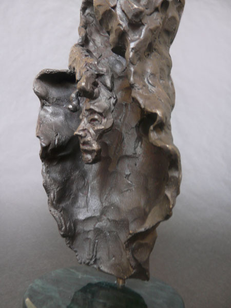 Close Up - Sculpture (Bronze on Marble)