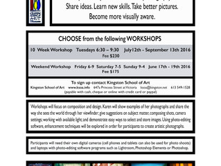 PHOTOART Workshops with Karen Dolan