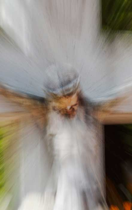 Christ in White