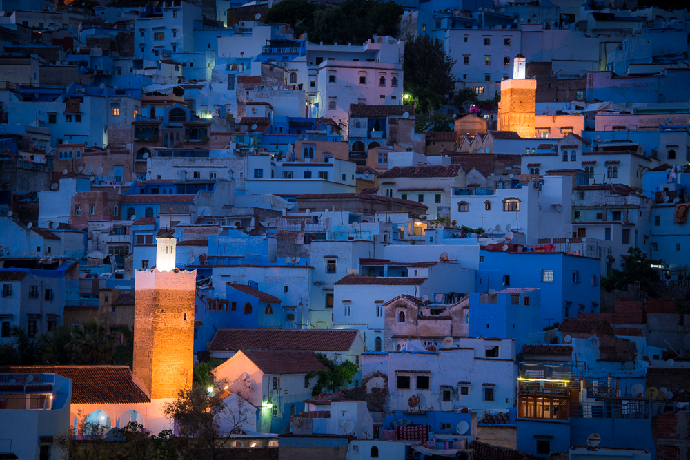 Chefchaouen Blue Hour