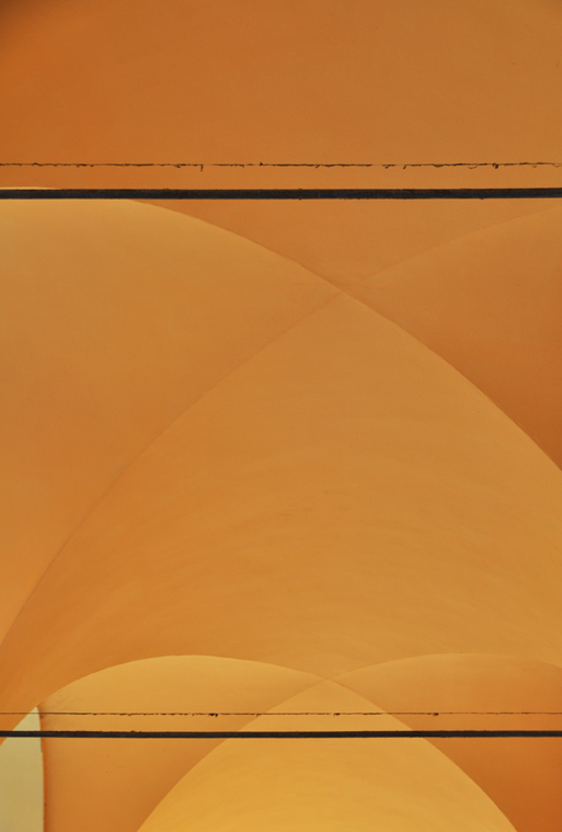 Soft Orange Portico