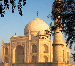 Taj Mahal Corner Facade