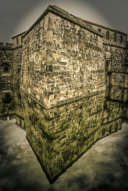 Stone Wall Reflection