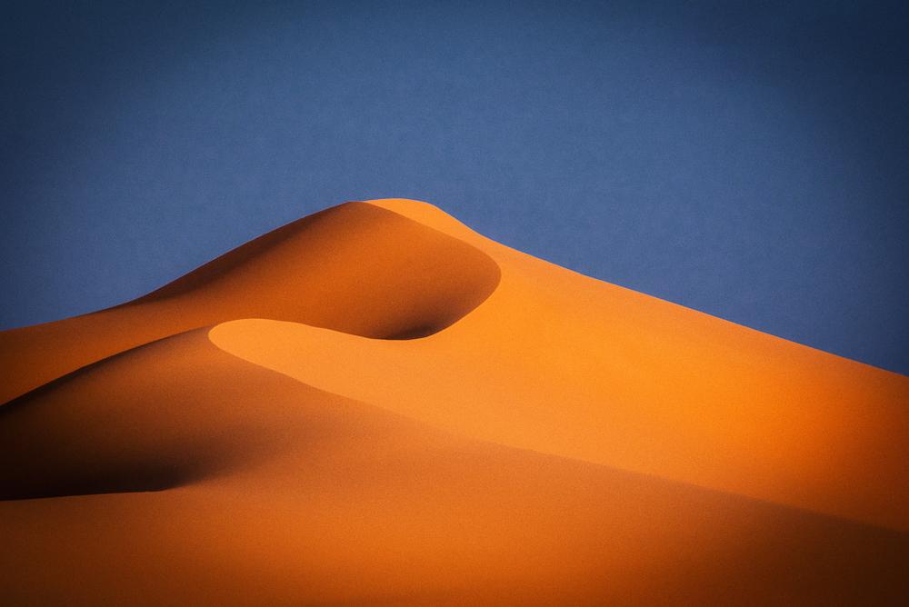 Erg Chebbi Desert Mountain