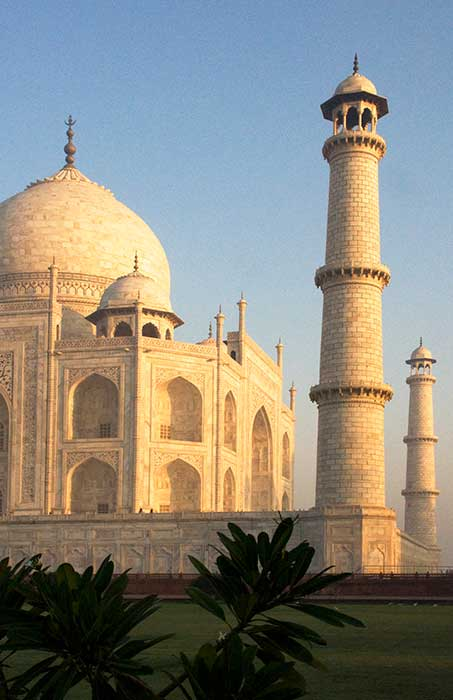 Taj Mahal Facade Towers