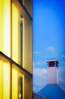 tett foyer and tower