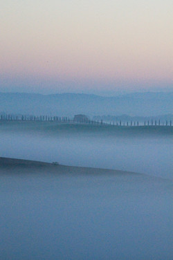 Tuscany in Blue and Pink