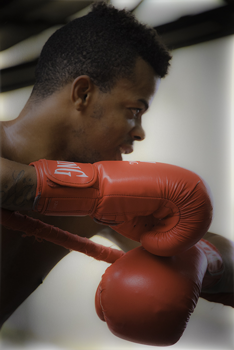 Boxer Red Gloves