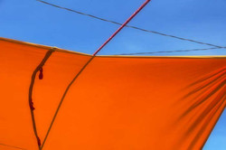 Orange Blue Tarp