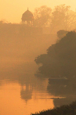 Agra Taj Mahal Yamuna River