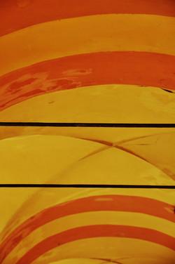 Orange Rhythm Portico