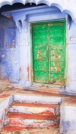 Jodhpur Green Door