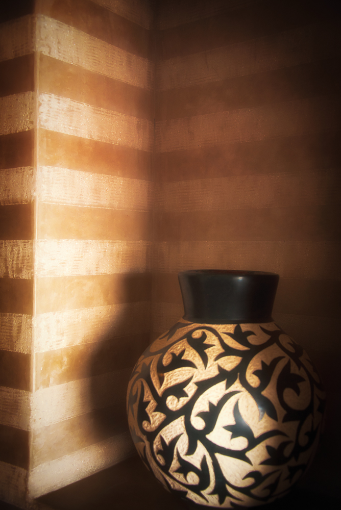 Essaouira Vase and Stripes