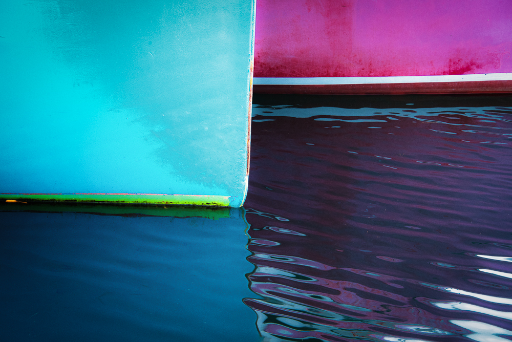 Colourful Boats