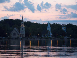 Those Churches Water View